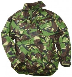 Parka Smock Windproof British Camo