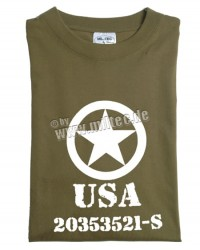 T-shirt ALLIED STAR Oliv