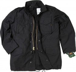 Kurtka ALPHA INDUSTRIES M-65 Black