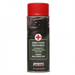 Farba do maskowania FOSCO 400 ml Red Cross Red