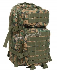 Plecak MIL-TEC ASSAULT SMALL 20 litrów Digital Woodland