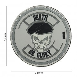 Naszywka PATCH 3D PVC Death or glory