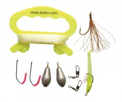 Zestaw do łowienia ryb BCB LIFERAFT FISHING KIT