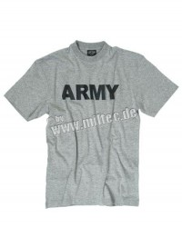 T-shirt ARMY Grey