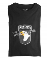 T-shirt AIRBORNE Black