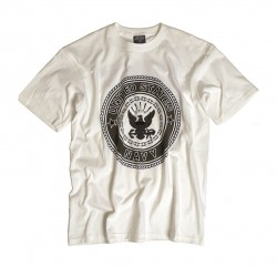 T-Shirt NAVY White