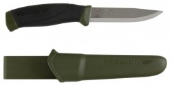 Nóż MORA COMPANION MG Carbon Steel Oliv