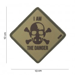 Naszywka PATCH 3D PVC I AM THE DANGER