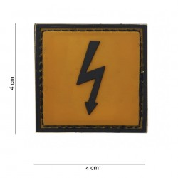 Naszywka PATCH PVC Dangerous Voltage