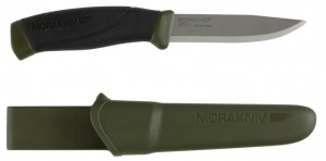 Nóż MORA COMPANION HEAVYDUTY MG Carbon Steel Oliv