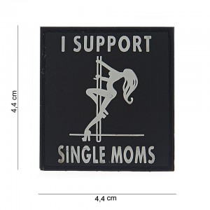 Naszywka PATCH 3D PVC I SUPPORT SINGLE MOMS