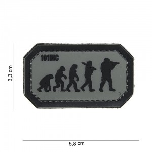 Naszywka PATCH 3D PVC AIRSOFT EVOLUTION