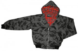 Kurtka KNIGHTSBRIDGE HARRINGTON z kapturem Night Camo