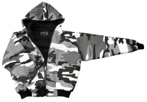 Kurtka KNIGHTSBRIDGE CITY Camo z kapturem